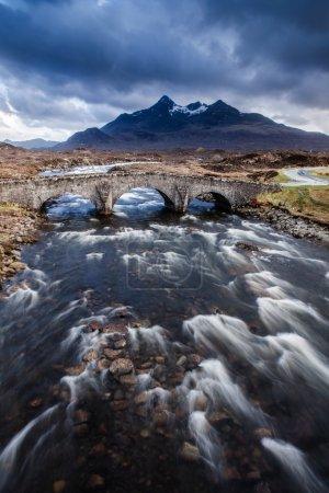 Isle of skye in Scotland, Great Britain UK
