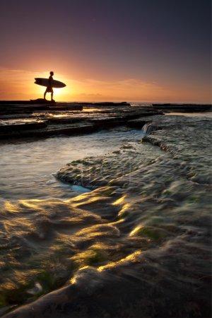 Tidal surfer.