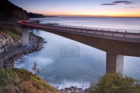 Photo for Sea Cliff Bridge - Royalty Free Image
