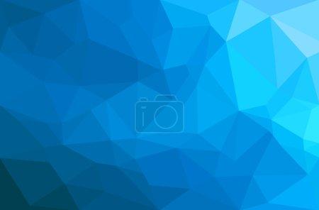 Illustration pour Fond géométrique abstrait polygone. Vecteur et illustration - image libre de droit