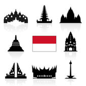 Indonesia Travel Icons