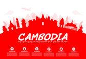 Beautiful Cambodia Travel Landmarks