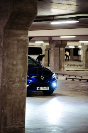 Photo for New Car Renault Clio E-TECH 140 HYBRID RS, 2020. Selective focus. High quality photo - Royalty Free Image