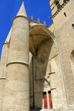Photo pour Université de Médecine et Cathédrale Saint-Pierre, Montpellier, Sud de la France - image libre de droit