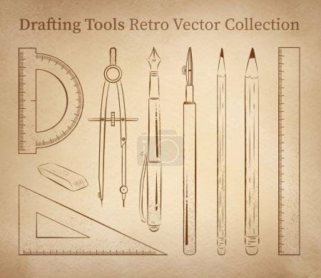 Jeu d'outils de dessin