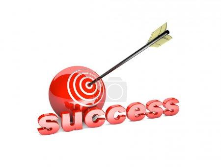 Target. Success concept.