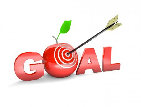 Target. Success concept