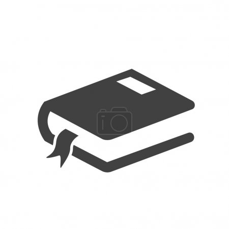 pictograph of book icon