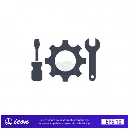 Pictograph of gear tools