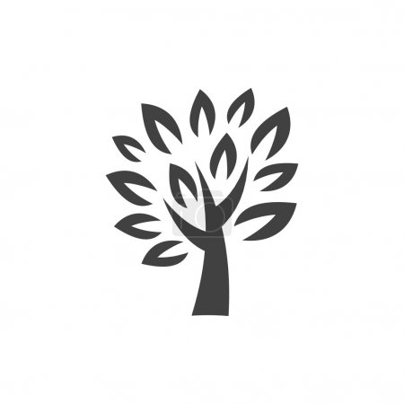 Pictograph of tree icon