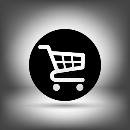 Pictograph of shopping cart