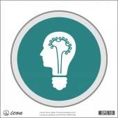 bulb concept icon
