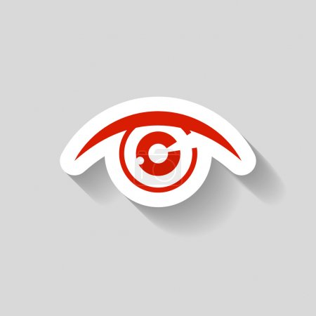 Pictograph of eye icon