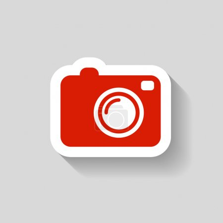 Pictograph of camera icon
