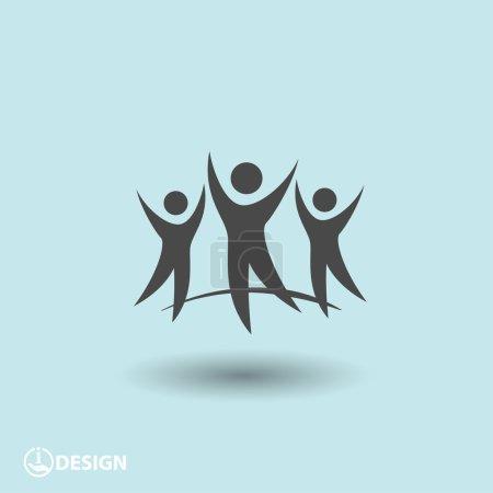 Success team icon