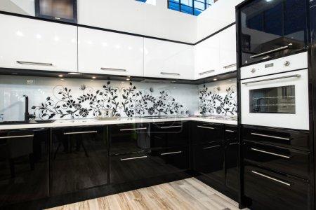 Nice  modern kitchen interior...