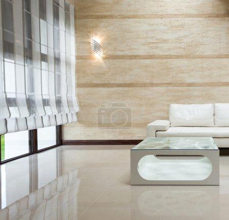 Modern apartment hall interior