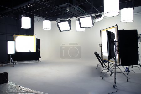 Interior of a professional studio