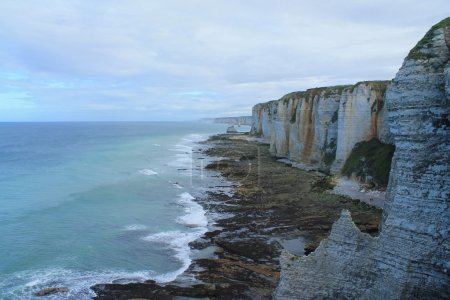 Etretats and its cliffs, France