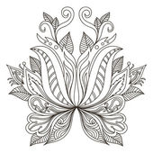 Vector ornamental element Mehndi elements
