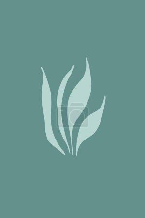 Printable minimalist botanical illustration. Wall ...