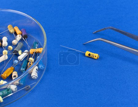 Instruments for root canal treatment