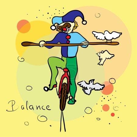 Harlequin-balancer