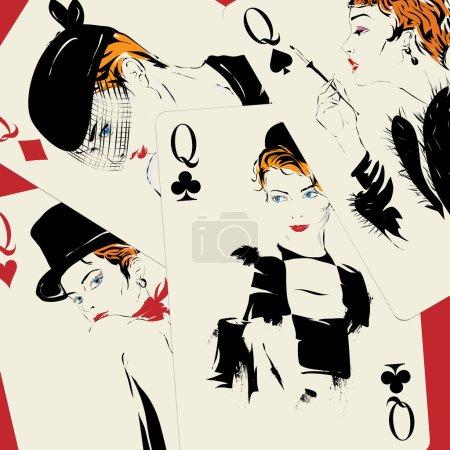 Playing card. Poker. Casino