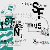 STYLE and FASHION word cloud concept
