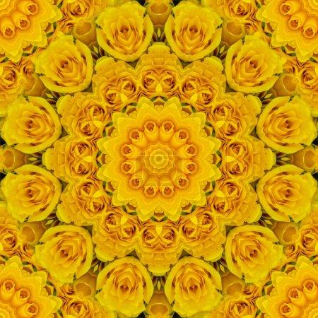 Beautiful kaleidoscope seamless pattern