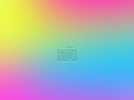 Photo pour Fond flou aux couleurs fluo vives. Texture floue multicolore pour la conception web - image libre de droit