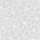 Elegant seamless floral pattern Lace background with flowers