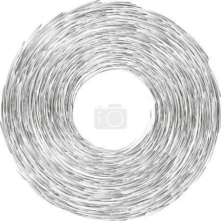 Vortex strokes circle,abstract background...