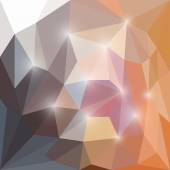 Abstract geometric polygonal triangular background with glaring lights for use in design