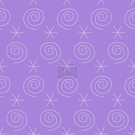 handmade doodle seamless simple pattern background