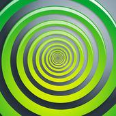 Spirály zelené a šedé pozadí grafické ilustrace