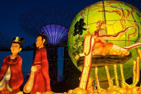 Lanterns at Mid Autumn festival in Singapore