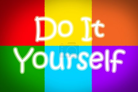 Photo for Do It Yourself Concept text on background - Royalty Free Image