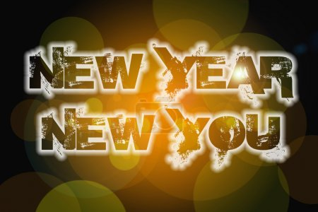New Year New You Concept