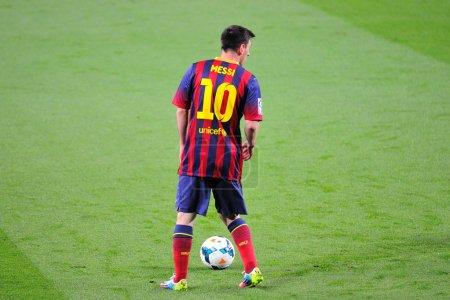 Leo Messi FC Barcelona player