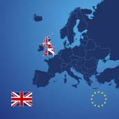 UK map cover vector