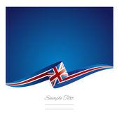 Új absztrakt brit zászló szalag