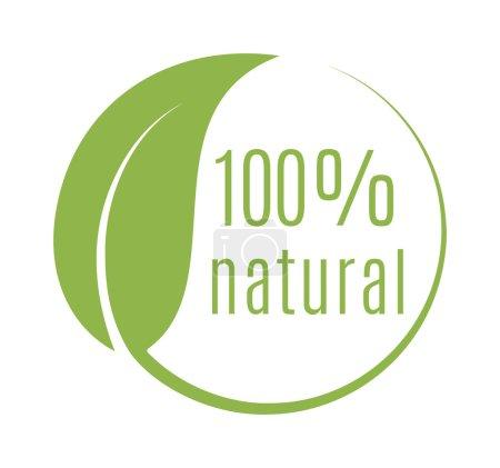 Illustration for Abstract sphere green leaf logo element vector design ecology symbol. Leaf logo shape icon and green leaf logo emblem. Ecology green leaf logo organic environment, tree leaf logotype. - Royalty Free Image