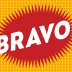 Bravo text on classic pop art design vector illust...