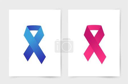 Stop cancer medical poster concept
