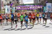Lilac Bloomsday 2013 12k Fun Run Men's Elite Leaders Pack in Spokane WA