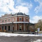 Spa, Belgium, April 6, 2021. The historic small ga...