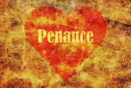 Single word Penance