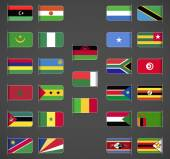 World flags collection, Africa, part 2