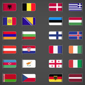 World flags collection, Europe, part 1